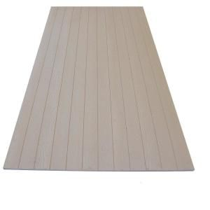 Duratemp 0 344 In X 48 In X 96 In Primed 4 Oc V Groove Plywood Siding Panel 1040594 The Home Depot Plywood Siding Panel Siding Wood Siding