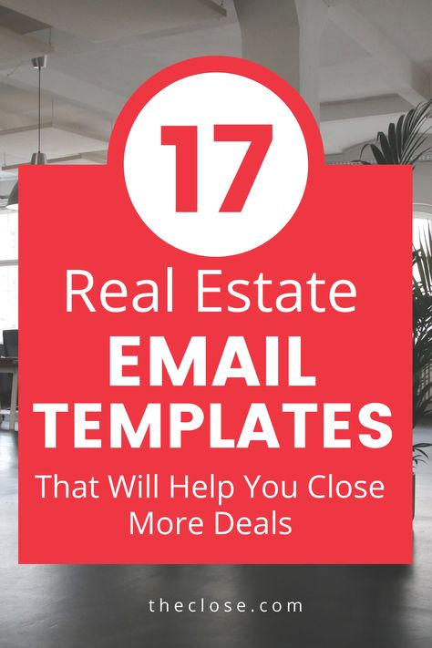 17 Best Real Estate Email Templates & Scripts