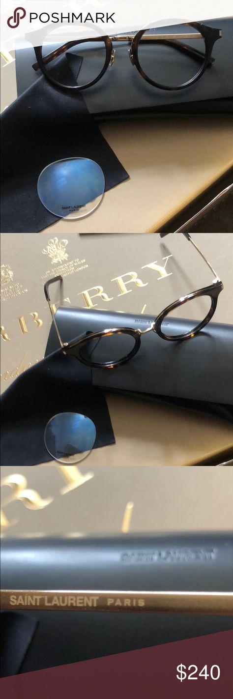238eb5e82e SAINT LAURENT SL 91 tortoise gold tone eye glasses FRAMES and accessories  only