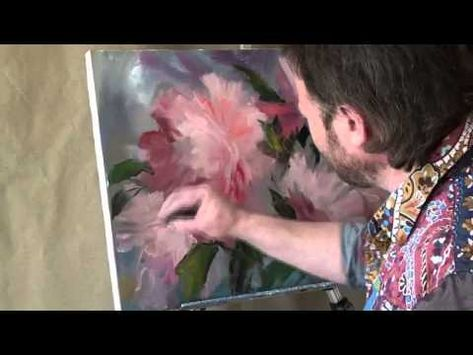 "FREE! Full video ""Peonies"" painter Igor Sakharov"