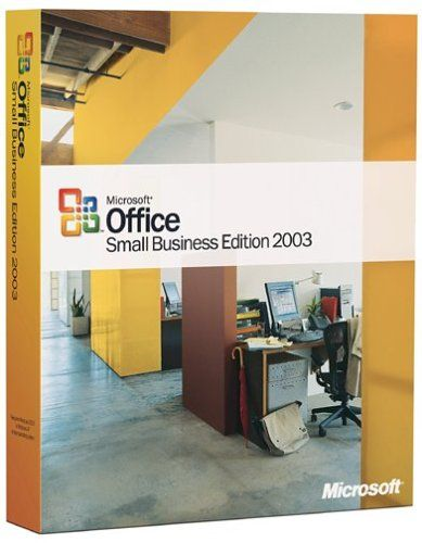 Microsoft Office Small Business 2003 OLD VERSION - Centralized - microsoft office small business templates