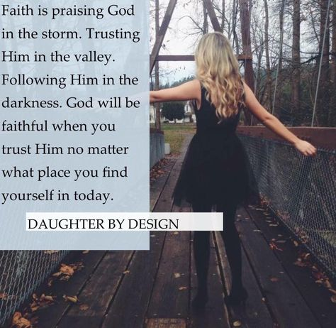 ✞❣ Faith is when the circumstances are against you but you trust God anyway…