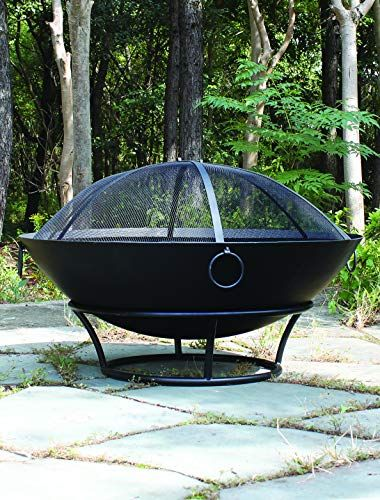 Extra Large Outdoor Steel Fire Pit