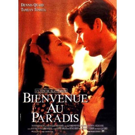 Bienvenue Au Paradis - 1990 - Alan Parker, Dennis Quaid - 116x158 cm - AFFICHE ORIGINALE de Cinéma - Envoi Plié