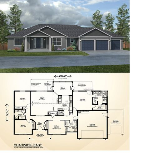 Chadwick East True Built Home On Your Lot Builder Ramblers Dream Home Contemporary Homes House Plan Gallery Craftsman House Plans Dream House Plans