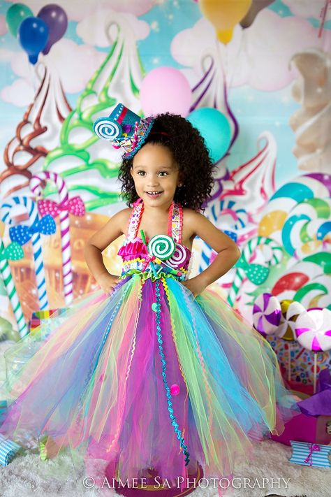 66ea8d75883f Our Candyland tutu dress is so adorable and perfect for your little one!  This dress is embellished with custom handmade accents,ruffles,trim and  more!
