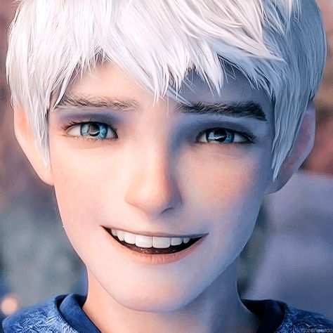 In case you are having a bad day, here is a picture of Jack Frost smiling at you.