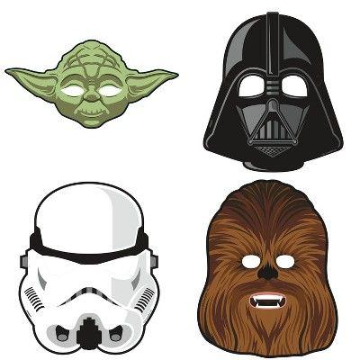 Star Wars Maske 3D-Druck Chewbacca Darth Vader Stormtrooper Yoda