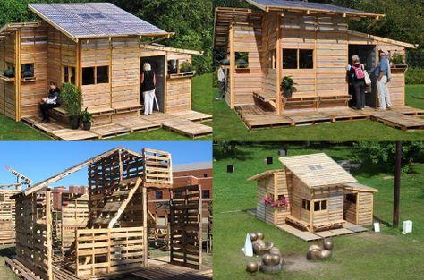 Come Costruire Una Casa Con I Pallet Video Tutorial Istruzioni E