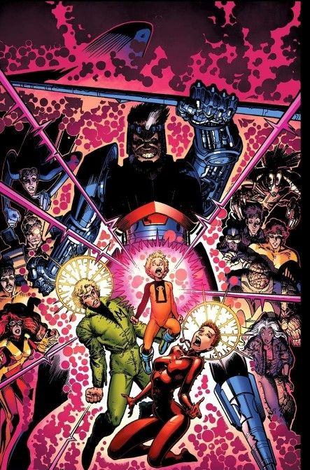 Days Of Future Present Cover Art To Uncanny X Men Annual 14 1990 Art Arthur Adams New Colors Matt Milla X Men Days Of Future Past Marvel Masterworks
