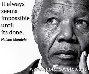Best Nelson Mandela Famous Quotes