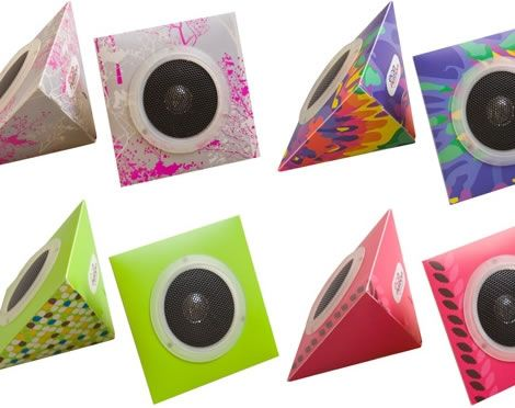 Eco Speakers Made From Recycled Materials Speakers And Project Ideas