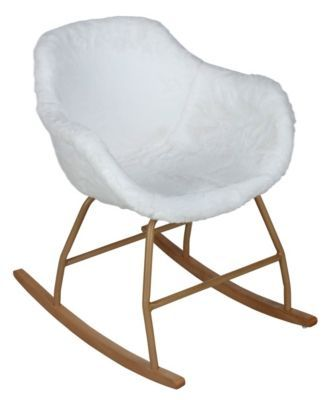Mobilier Le Coin Repas Chaises Rocking Chair Cocooning Iceberg Blanc Fauteuil Chambre Bebe Rocking Chair Chambre Bebe Et Fauteuil Chambre