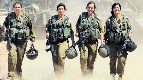 The four female paramedics who saved the most lives in Operation Protective Edge