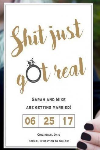 59 Ideas Wedding Invitations Funny Fun Friends For 2019 Creative Wedding Invitations Funny Wedding Invitations Funny Save The Dates