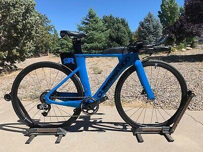 Sponsored Ebay Quintana Roo Prsix Disc Triathlon Bike Sram Red