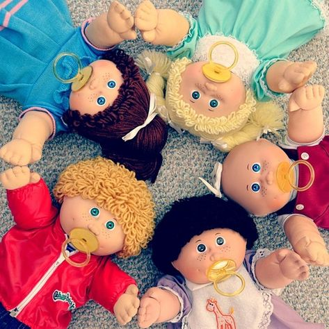 My Cabbage Patch Kids - Welcome Page