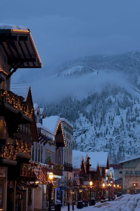leavenworth washington christmas towns