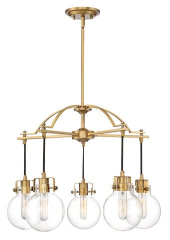 Industrial Chandelier With Clear Dining Bedroom Chandeliers