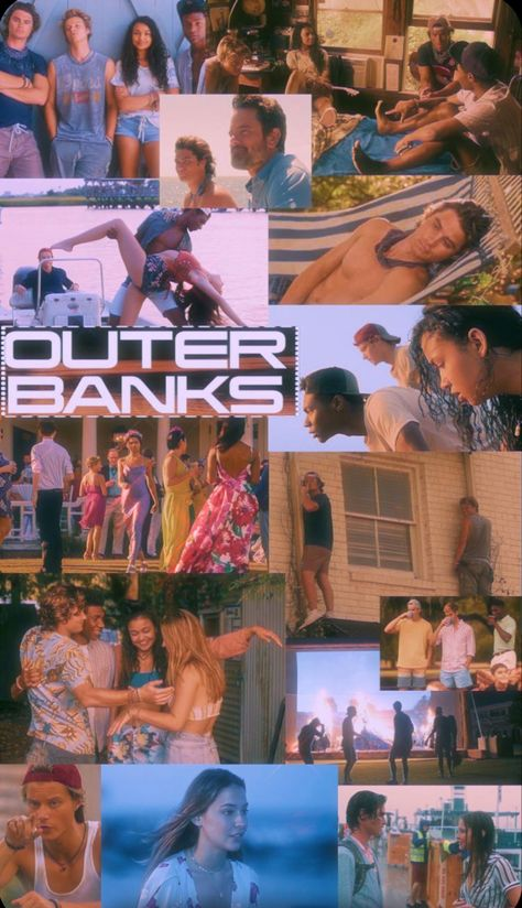 Outer Banks Cute Wallpaper Collage Netflix Show