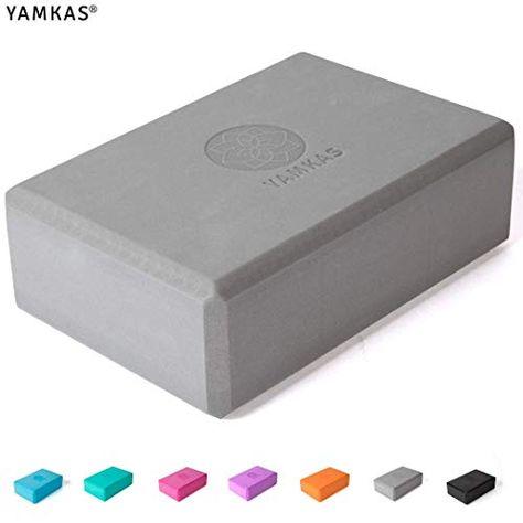 Bloc de Yoga en Mousse EVA de Haute Densit/é Yoga Block Yamkas Brique Yoga Cube pour Pilates