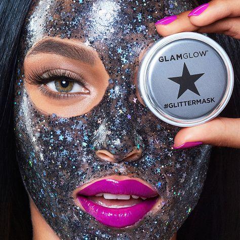 GlamGlow Glitter Mask - The Best Glitter Makeup  - Photos