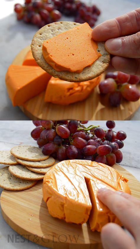 Smoked Cashew Cheese Recipe [easy healthy vegan cheese]