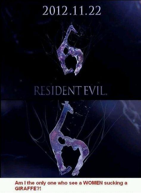 Giraffe Resident Evil Funny Resident Evil Evil