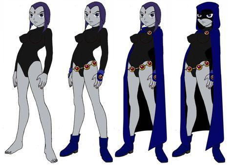 deviantART: More Like Teen Titans Raven - Open-Box Action Figure!