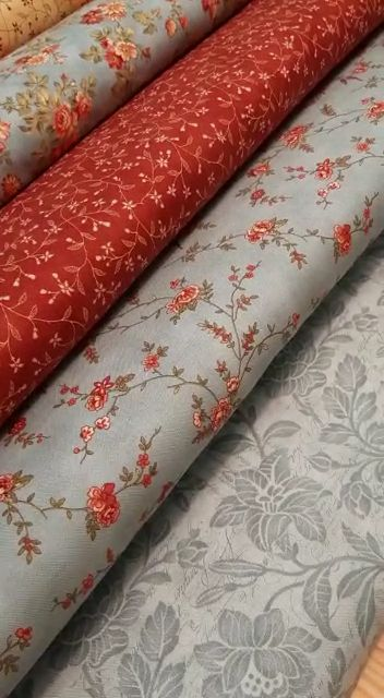 Tela decorativa canvas-algodón 50 x 140 cm batic en Rosa//Rose