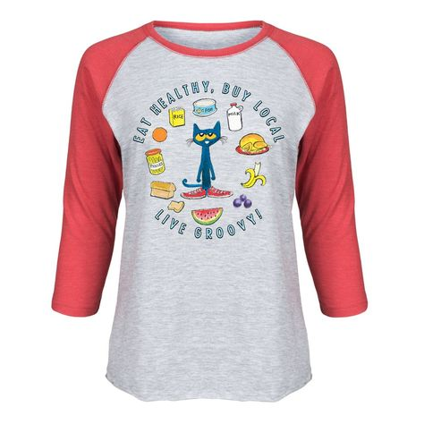 Toddler Long Sleeve Tee Pete the Cat Keepin It Groovy