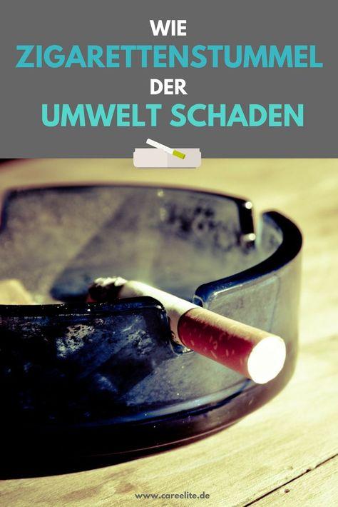 zigarettenstummel umwelt