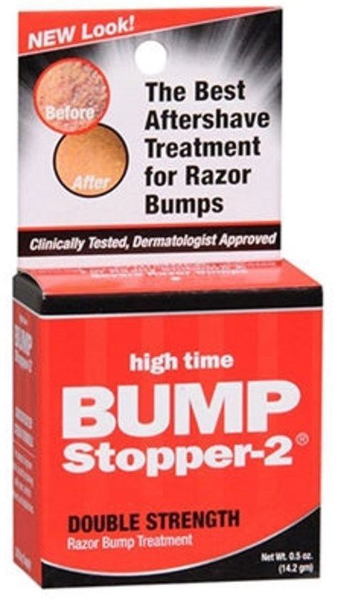 High Time Bump Stopper Double Strength Razor Bump Treatment .5oz 30 day SEALED #HighTime