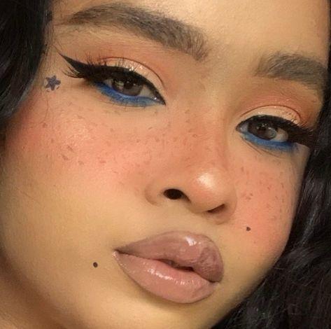 no makeup makeup Edgy Makeup, Indie Makeup, Makeup Eye Looks, Grunge Makeup, Cute Makeup, Makeup Goals, Pretty Makeup, Skin Makeup, Makeup Inspo