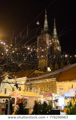 Christmas Market In Zagreb Croatia Discover This And Millions Of Other Royalty Free Stock Photos Illustrations Croatia Christmas Stock Photos Croatia Images