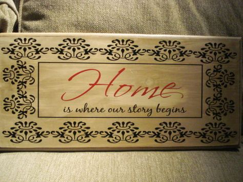 'Home is where our story begins'