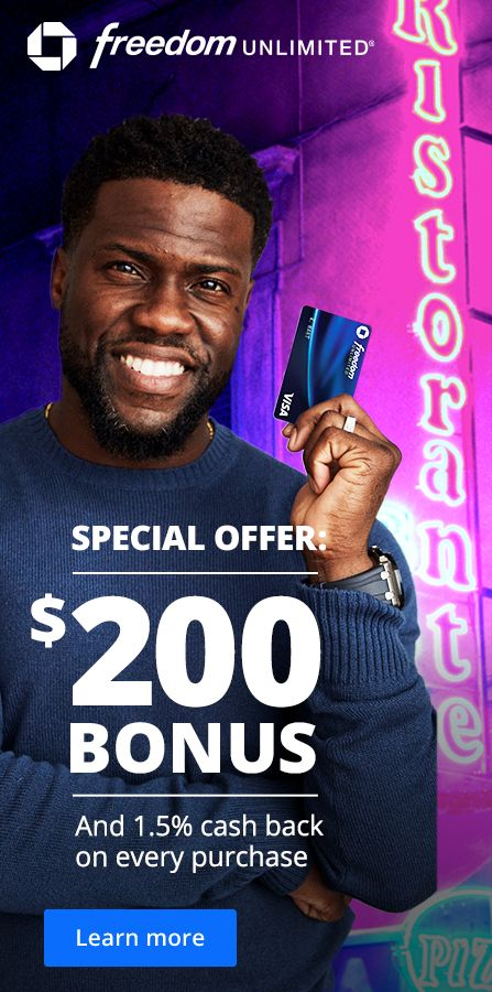 Earn A 200 Bonus Plus Pay No Annual Fee Chase Freedom Unlimited Always Earning Chase Freedom Credit Repair Business Credit Repair
