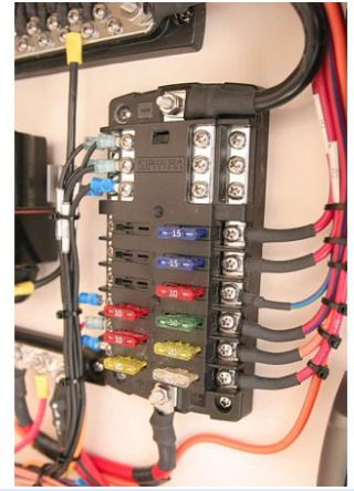 Boat Fuse Panel Installation | Wiring Diagram  Gang Switch Panel Wiring Diagram Ebay on