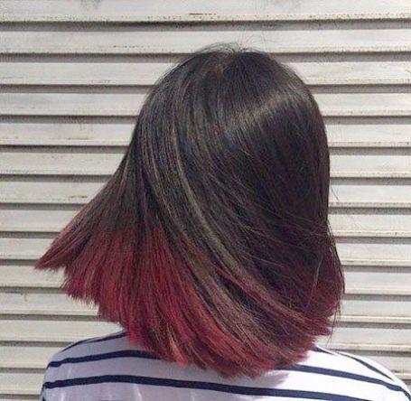 Underlights The Latest Hair Color Trend Hair Color Underneath Peekaboo Hair Hair Inspiration Color