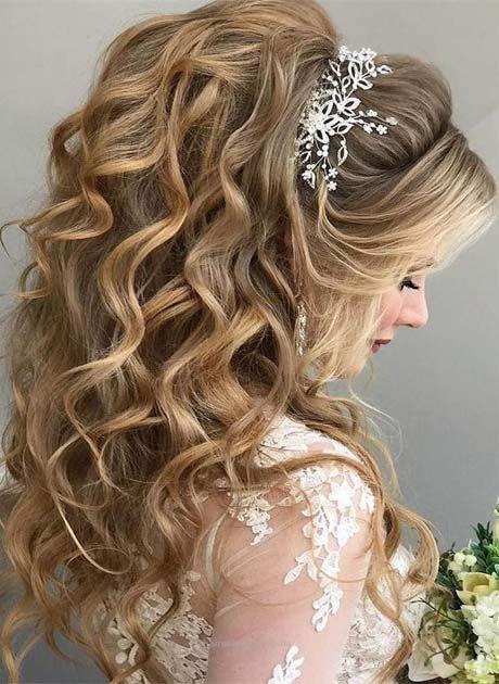 Lavish Wedding Hairstyle Ideas 2019 Ideas For Fashion In 2020 Long Hair Styles Down Hairstyles Wedding Hair Down