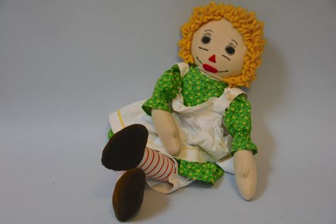 Handmade Vintage Doll  Retro 50s 60s Blonde by Day17Vintage