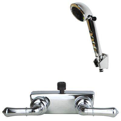 Laguna Brass Rv Motorhome Replacement Non Metallic Tub Shower