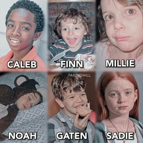 Cast Criança ★