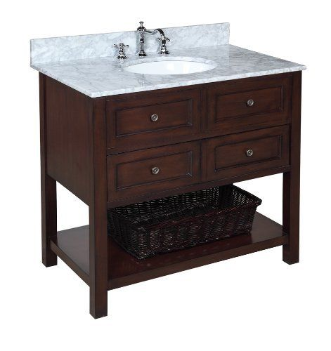 New Yorker 36 Single Bathroom Vanity Set Single Bathroom Vanity 36 Inch Bathroom Vanity Kitchen Bath Collection