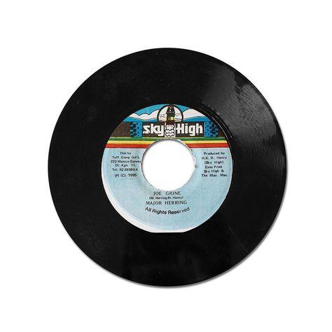vinyl Joe Grine is afraid of no man...