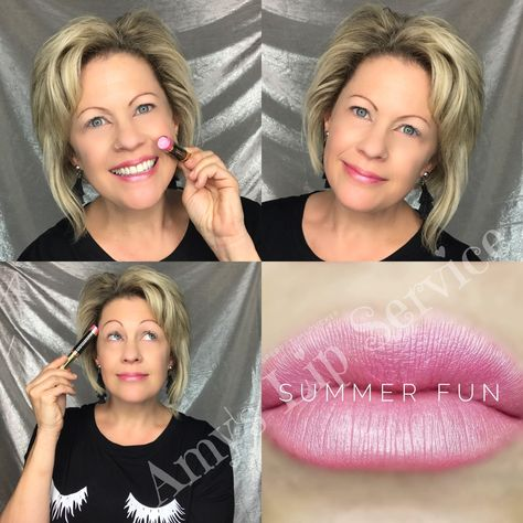 EEEEEEEEK!!! Summer Fun is one of the NEW LipSense colors from SeneGence!! I love the light pink tone...and basically everything about this one!!! This color just makes me happy🤩💞😍#thinkpink #havesomesummerfun 💓 💓 💓 #summerfun #summerfunlipsense #coastalcollection #limitededitionlipsense #amyslipservice #senegence #waterproofmakeup #lipsense #workfromhome #financialfreedom #playwithmakeupandgetpaid #senegencedistributor #skincareobsessed #loveyourskin #uniqueseneplexcomplex