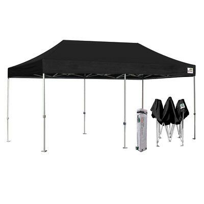Sponsored Link 10x20 Heavy Duty Black Pop Up Canopy Outdoor Marquee Tent Shade W 4 Side Walls In 2020 Canopy Tent Outdoor Party Tent Shade Tent