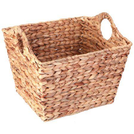 Home In 2020 Storage Baskets Wicker Basket Shelves