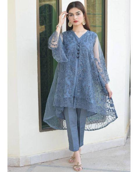 pakistani dress design Source by dress pakistani
