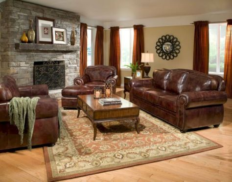 44 Amazing Living Room Paint Ideas By Brown Furniture Roundecor Living Room Decor Brown Couch Brown Living Room Decor Leather Living Room Furniture Brown leather living room decorating